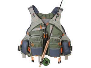 Kylebooker Fly Fishing Vest Pack Adjustable for Men and Women
