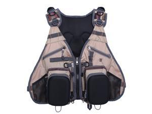 Kylebooker Fly Fishing Vest Backpack Tackle Storage Bags Adjustable for Men and Women