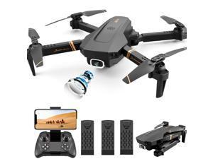 Drone X Pro Selfi Wifi FPV 1080P HD Camera Foldable 6-axis RC Quadcopter US NEW