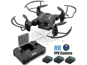 -V2 Mini  Drone With 720P HD Wifi FPV Camera Foldable RC Quadcopter for kids
