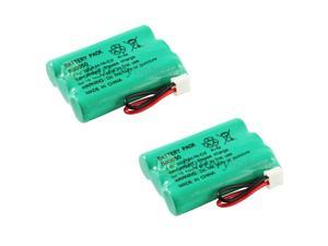 2 NEW Cordless Home Phone Rechargeable Battery for Sanik 3SN-AAA55H-S-J1 HOT!