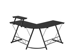 L-Shaped Corner Desk Computer Gaming Desk PC Table Writing Table Home Office