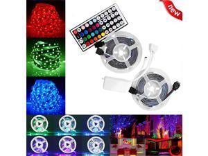 10M SMD RGB 600 LED Strip Light String Tape + 44 Key IR Remote Control