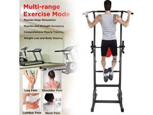 Power Tower Dip Bar Dip Station Exercise & Fitness Home Gym Strength Training Fitness Equipment