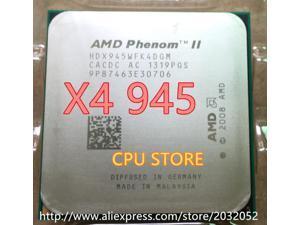 AMD Phenom II X4 945 procesador de CPU 3,0 GHz Socket AM2 +/938 AM3 L3-pin/6M Quad-CORE x4 945