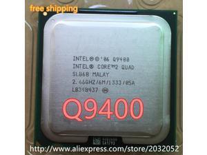 Intel Core 2 Quad Q9400 q9400 CPU (procesador de 2,66 Ghz/ 6M /1333GHz) 775 CPU