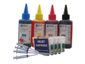 Refill ink kit for EPSON T1811 18XL ink cartridge for EPSON XP-30 XP-102 XP-202 XP-205 XP-302 XP-305 XP-402 XP-405 Printer ink