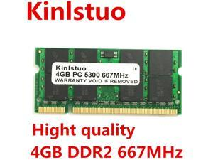 Sodimm DDR2 667MHz PC5300 DDR2 4GB for Laptop motherboard chips is GL40, GM45, GS45 ,PM45, PM65 ,PM945,965 chips
