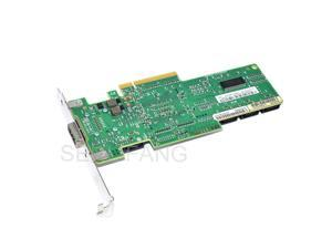 25R8071 Well Tested LSI SAS 3444E-R 8 port HBA JBOD SFF8088 SATA x4 MiniSAS 3Gb PCI-E X8 Controller Card 95%