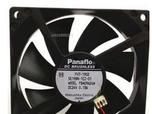 Ventilador enfriador de servidor para Panaflo FBA09A24M 24V DC 0.13A 90x90x25mm