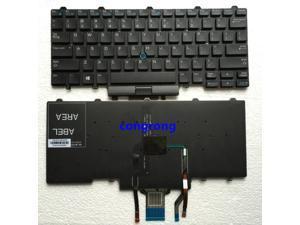 US English keyboard for DELL Latitude E3340 E5450 3340 E7450 L keyboard with backlight