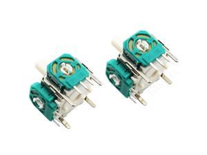 2x Analog Joystick Stick Switch For GameCube NGC Wii Classic Nunchuk Controller