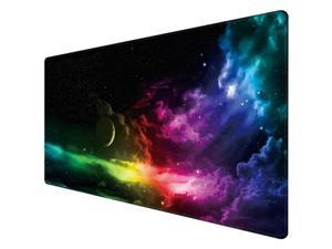 Gaming Mouse Pad Large Custom Computer Desk Mat Office Rubber Non-Slip Mouse Pad
