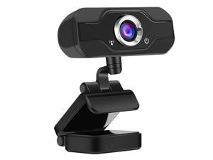 1080P HD Computer Camera Webcam with Microphone Digital USB Video Recorder for Office Home