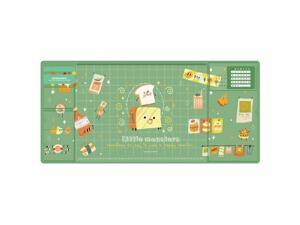 Oversized Waterproof Mouse Pad Student Writing Pad Office Computer Desk Mat Laptop Cushion Desk Organizer with Calendar