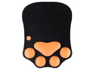 Mouse Mat Wrist Support Gel, Mousepad Wrist Rest Ergonomic Gaming Mouse Pad Desk PC Accessories