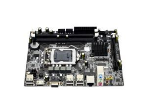 H55 Motherboard DDR3 LGA 1156 Supports 2x4G Capacity 3xSATA2.0 Motherboard for PC