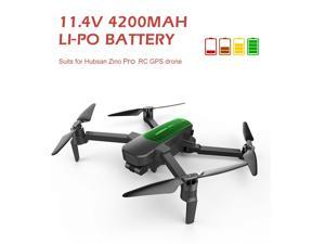 Replacement for Hubsan Zino Pro RC Drone 2 pcs 11.4V 4200mAh Li-Po Battery