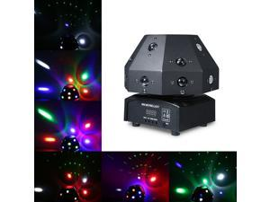 AC90-240V 80W 17 LEDs Rotatable Beam Stage Light