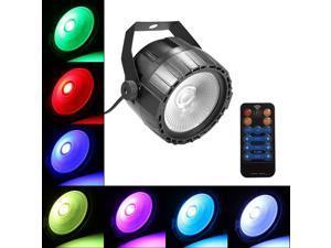 30W RGB UV COB LED Stage Par Light