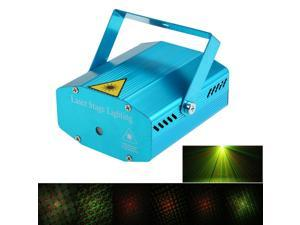 Mini LED Laser Projector Red & Green Stage Lighting Effect Patterns with Tripod