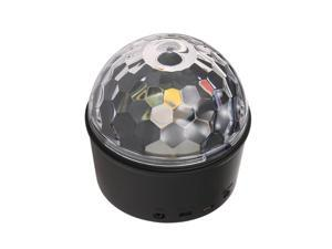 Party Lights Sound Activated Disco Ball Lights with Remote Control 9 Colors LED Stage Light for Kids Bedroom