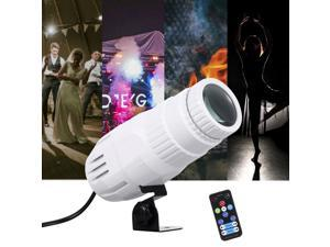 Mini RGBW LED Beam Spot lights Pinspot Light with Remote Spotlight Stage Effect Lighting for DJ Disco Party
