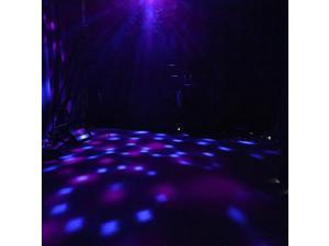 Patterns La-ser Projector RGBW Stage Light Disco Magic Ball Party Lights Sounds Active Music Center Strobe