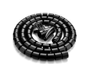 1.5m Wire Wrap Organizer Winder Clip Cable Plug Wire Holder