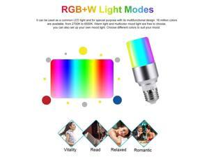 V15 Smart WIFI LED Bulb RGB+W LED Bulb 6W E26 Dimmable Light Phone Remote Control Group Control Compatible