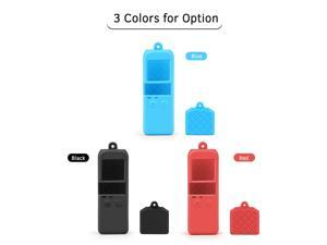 Soft Silicone Protective Body Case Holder Protector Shell with Protection Cover Cap Wrist Lanyard for DJI Osmo