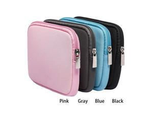 B2018 Laptop Sleeve Notebook Bag Power Bag for Adapter Power Bank HDD Hard Disk Drive Mouse Cable Shockproof