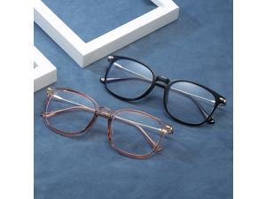 LG8815 Blue Light Blocking Glasses Frame Light Plastic&Metal Eyeglasses Frame for Man and Woman Anti Glare