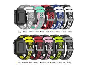Watch Strap for MI Watch Unisex Silicone Wristband Wrist Strap Multiple Colors Optional
