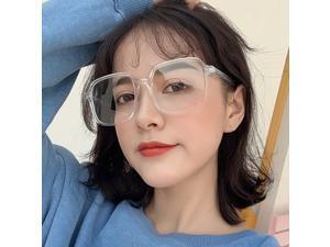 Unisex Optical Glasses Anti-blue Light Glasses Ultra Light Square Frames Spectacles Computer Glasses Fashion
