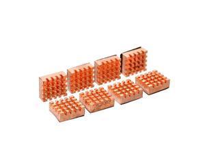 Aluminium / Copper Heatsink PC Cooler 1set 8 pieces Heatsink Radiator For PC RAM CPU Northbridge Southbridge