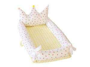 Crown Baby Crib for Bed