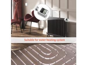 ZigBee Thermostatic Radiator Valve Weekly Programmable Smart Heating Radiator Thermostat APP Control Voice