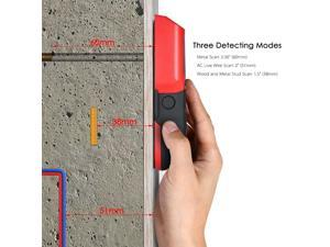 Stud Finder Wall Detector with Large LCD Digital Wood Studs Center Finder Metal and AC Cable Live Wire Scanner