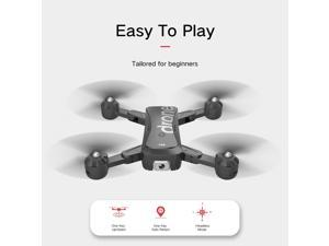 F88 RC Drone with Dual Camera 4K Image Follow Optical Flow Positioning APP Gesture Control Foldable Quadcopter