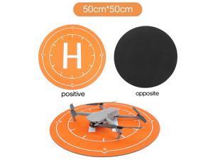 Compatible with DJI Mavic Air 2 Mini 2 Pro Spark Waterproof Landing Pad Apron Portable Landing Mat Diameter