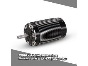 5692 980KV 4-Pole Sensorless Brushless Motor for 1/5 RC Car
