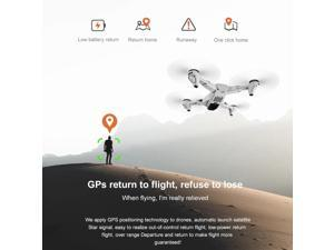 S103 RC Drone with Camera 4K 5G Wifi GPS Foldable Optical Flow Positioning RC Quadcopter with Headless Mode