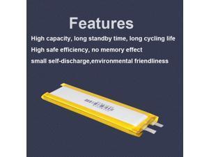 STARTRC 2pcs Lipo Battery Spare 3.7V 900mah Battery for DJI Osmo Pocket Gimbal Camera