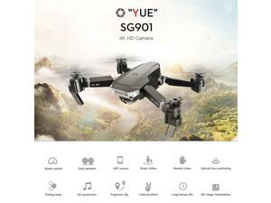 SG901 4K Drone with Camera Optical Flow Positioning MV Interface Follow Me Gesture Photos Video RC Quadcopter