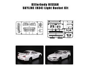 Killerbody 48647 Light Bucket Car Decoration Kit for NISSAN SKYLINE (R34) 1/10 Electric Touring RC Racing Car