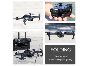 SG107 Foldable Mini Drone with Camera 4K HD Indoor RC Quadcopter APP Control Headless Mode 360°  Rotation
