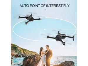 CSJ-X7GPS Brushless 4K Drone with Camera 5G Wifi FPV Foldable Auto Return Optical Flow Positioning Gesture