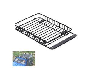 RC Car Metal Roof Rack Luggage Carrier Compatible with 1/10 Traxxas Hsp Redcat Rc4wd Tamiya Axial  Scx10 D90