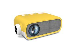 Mini Projector LED Home Theater Media Audio Player HDMI USB support 1080P Video Pocket Portable Projektor Yellow